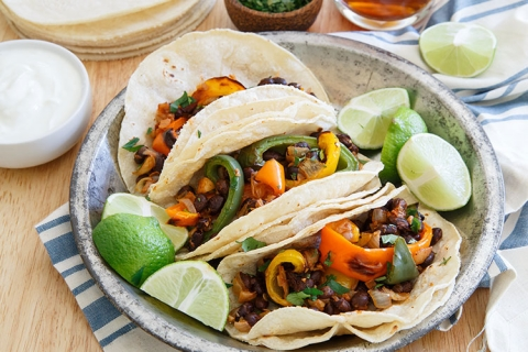 Charred Pepper Tacos
