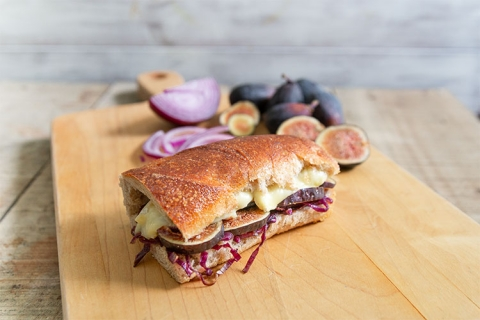 Fig and Onion Panini