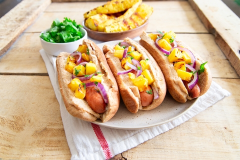 Hawaiian Hot Dogs