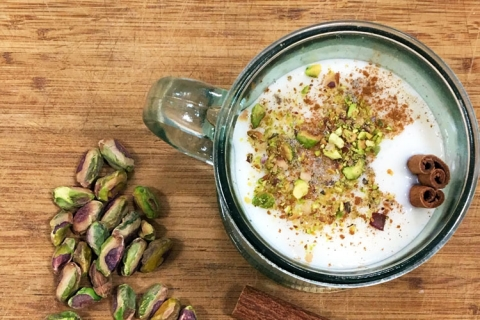 Middle Eastern Milk Pudding