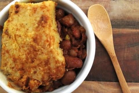 Vermont Winter 3 Bean Pot Pie Recipe
